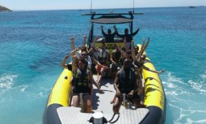 boat trip magaluf bladerunner mallorca