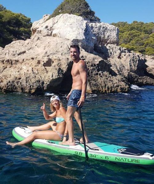 Paddle boarding water sports mallorca bladerunner mallorca