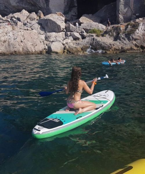 paddle boarding bladerunner mallorca